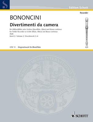 Divertimenti da Camera Volume 2 -Altblockfl. o. Violine u. BC laflutedepan