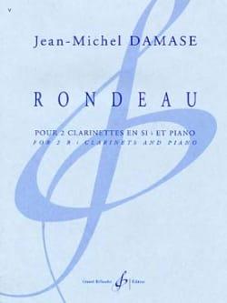 Rondeau Jean-Michel Damase Partition Trios - laflutedepan
