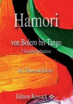 Von Bolero Bis Tango Thomas Hamori Partition Trios - laflutedepan