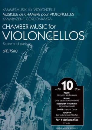 Chamber Music For Violoncellos - Volume 10 - Score + Parts laflutedepan