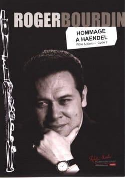 Roger Bourdin - Omaggio ad Haendel: flauto e organo - Partition - di-arezzo.it