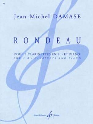Rondeau - Jean-Michel Damase - Partition - Trios - laflutedepan.com