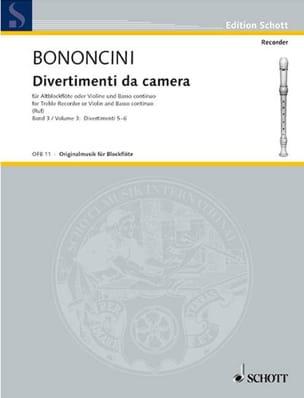 Divertimenti da Camera Volume 3 -Altblockfl. o. Violine u. BC laflutedepan