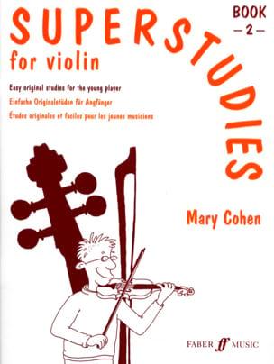 Superstudies Volume 2 - Violin Mary Cohen Partition laflutedepan