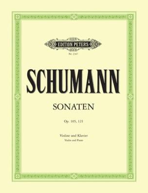 Sonaten op. 105, 121 SCHUMANN Partition Violon - laflutedepan