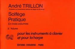Solfège pratique - Volume 3 - Clavier et harpe laflutedepan