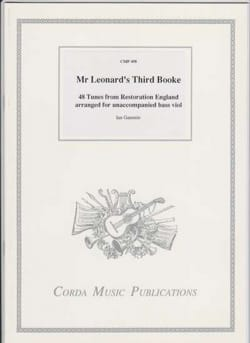 Mr Leonard's Third Booke Partition Viole de gambe - laflutedepan