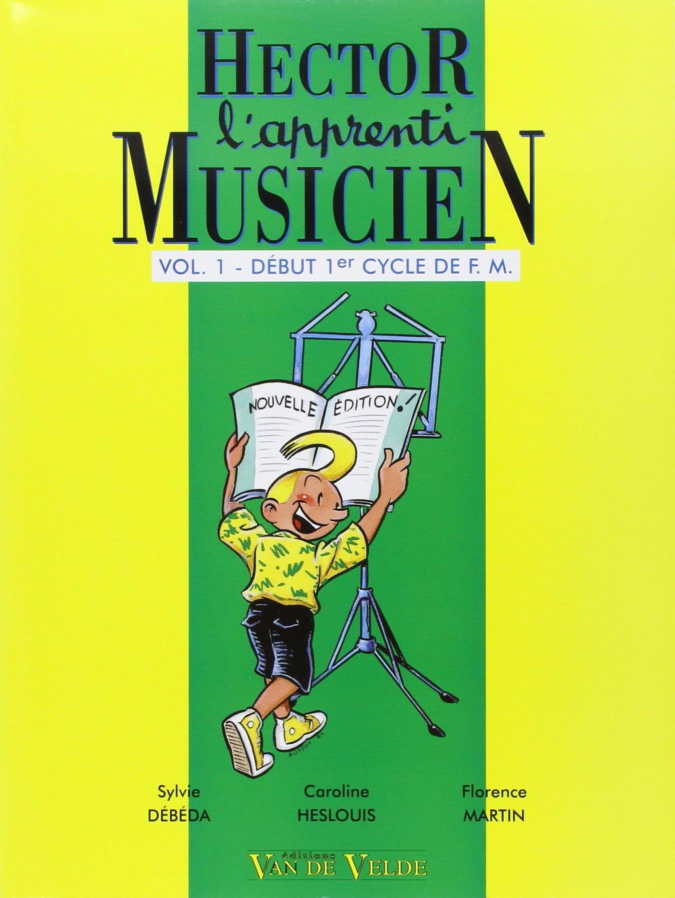 Hector, L'apprenti Musicien - Volume 1 - laflutedepan.com