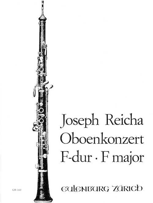 Konzert für Oboe in F-Dur - Oboe Klavier - laflutedepan.com