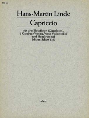 Capriccio -3 Blockflöten 3 Gamben Handtrommel - Partitur + Stimmen laflutedepan