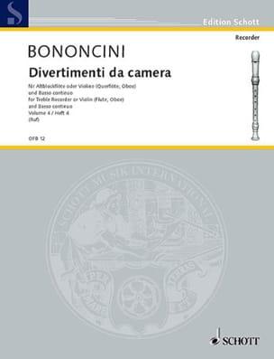 Divertimenti da Camera Volume 4 -Altblockfl. o. Violine u. BC laflutedepan