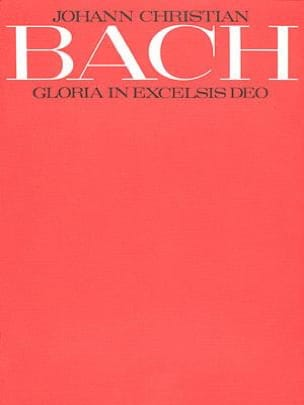 Gloria In Excelsis Deo, In G Johann Christian Bach laflutedepan