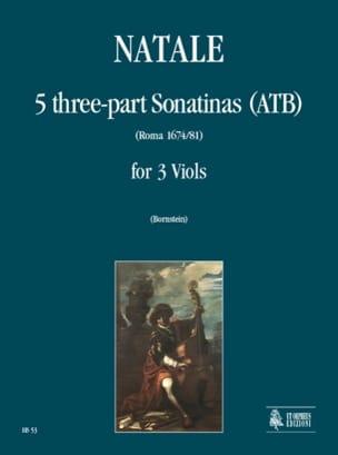5 Sonatines A 3 Voix Pompeo Natale Partition laflutedepan