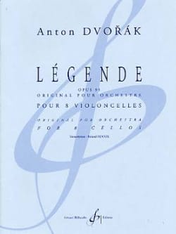 Légende Op.95 DVORAK Partition Violoncelle - laflutedepan