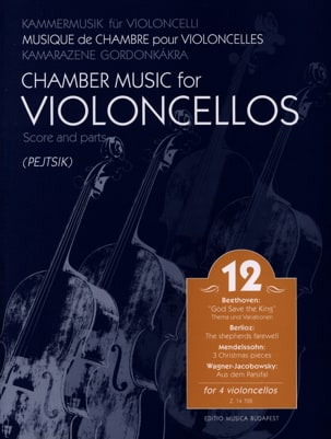 Chamber Music For Violoncellos - Volume 12 - Score + Parts laflutedepan