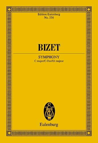 Sinfonie C-Dur Do M. - Conducteur - BIZET - laflutedepan.com