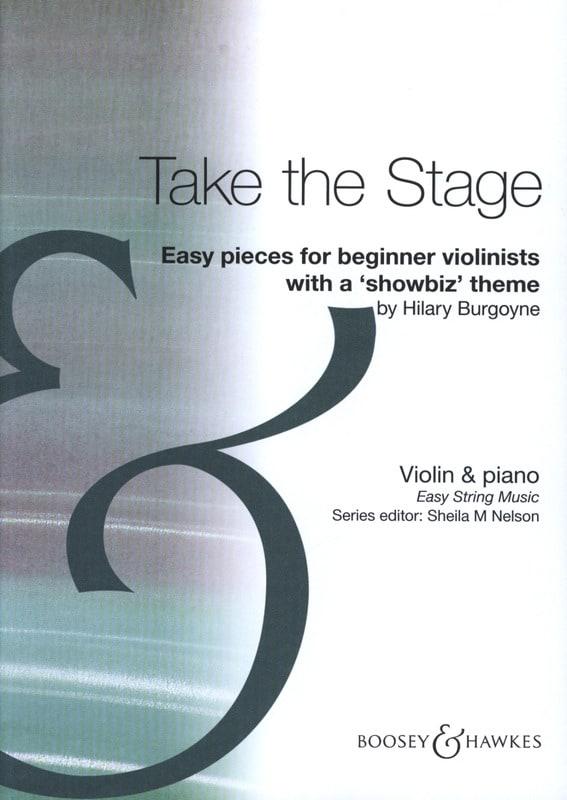 Take the Stage - Hilary Burgoyne - Partition - laflutedepan.com