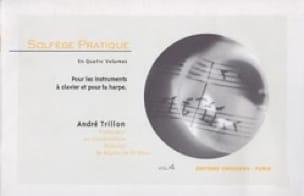 Solfège pratique - Volume 4 - Clavier et harpe - laflutedepan.com
