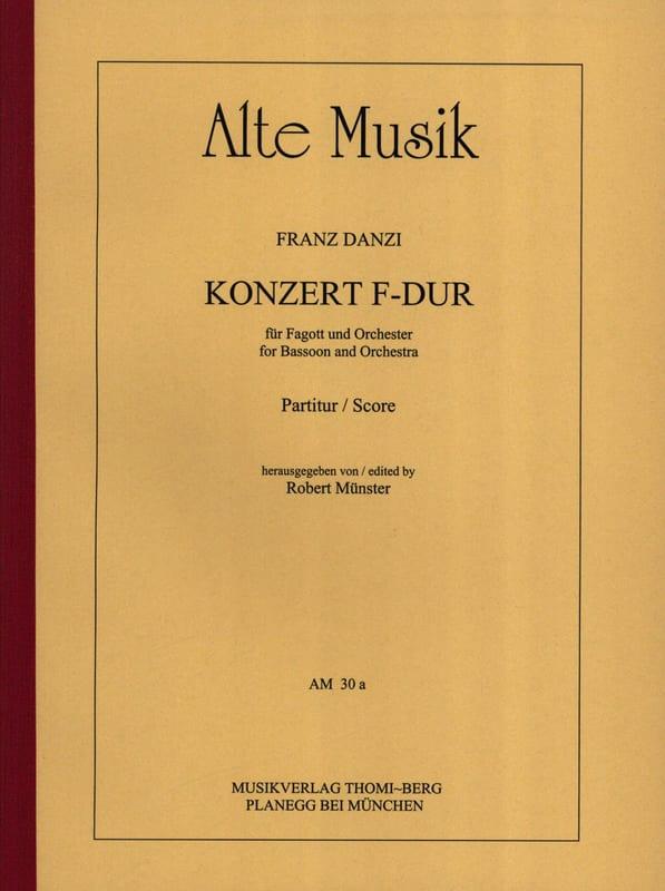 Konzert in F-Dur - Fagott u. Orchester - laflutedepan.com