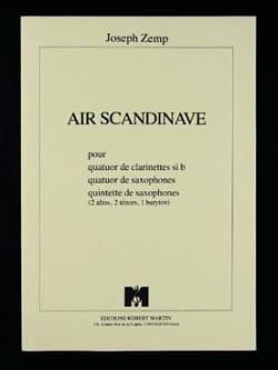 Air scandinave - quatuor clarinettes Joseph Zemp laflutedepan