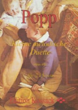 Kleine Melodische Duette Opus 480 Band 1 Wilhelm Popp laflutedepan