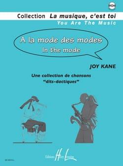 A la Mode des Modes Joy Kane Partition Solfèges - laflutedepan