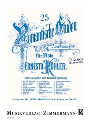 25 Etudes Romantiques op. 66 - N°11, Le supplice de Tantale laflutedepan
