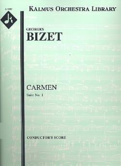 Carmen Suite n° 1 - Score BIZET Partition Grand format - laflutedepan