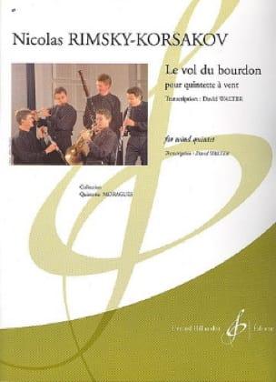 Le vol du bourdon -Quintette à vent - Conducteur + parties - laflutedepan.com