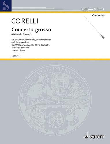 Concerto Grosso Weihnachtskonzert op. 6 n° 8 - Conducteur - laflutedepan.com