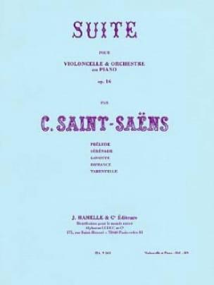 Suite Op. 16 Pour Violoncelle et Orchestre - laflutedepan.com