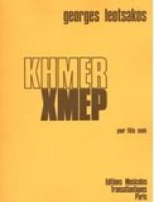 Khmer - Flûte Seule - Georges Léotsakos - Partition - laflutedepan.com