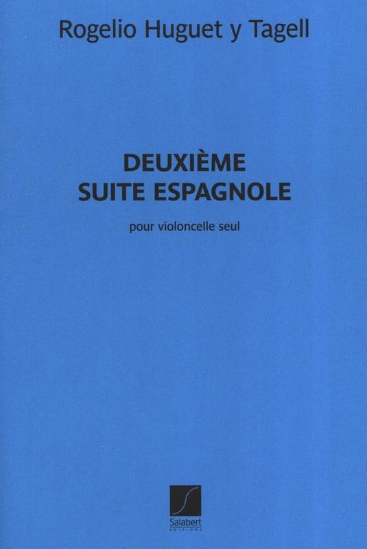 2ème Suite Espagnole - Rogelio Huguet Y Tagell - laflutedepan.com