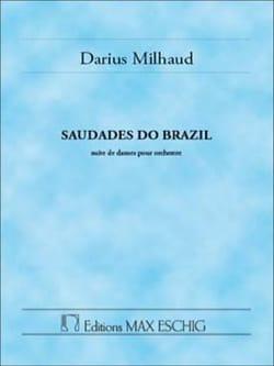 Darius Milhaud - Saudades Do Brazil - Partition - di-arezzo.com
