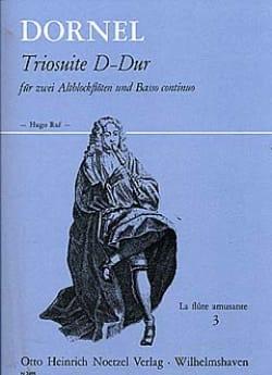 Triosuite D-Dur -2 Altblockflöten und Bc Antoine Dornel laflutedepan