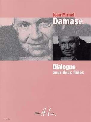 Dialogue Jean-Michel Damase Partition Flûte traversière - laflutedepan