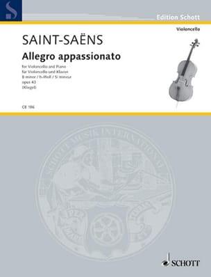 Allegro Appassionato En Si Min.Op.43 - SAINT-SAËNS - laflutedepan.com