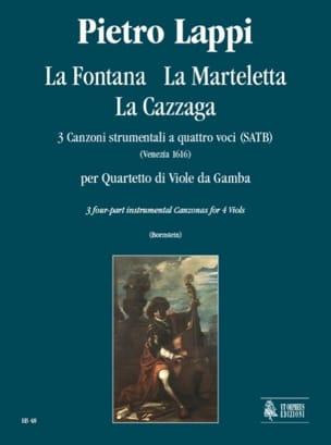La Fontana - la Marteletta - la Cazzaga Pietro Lappi laflutedepan