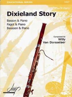 Dixieland Story Willy Van Dorsselaer Partition Basson - laflutedepan