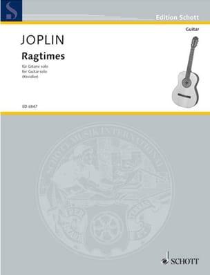 Ragtimes -Gitarre solo JOPLIN Partition Guitare - laflutedepan