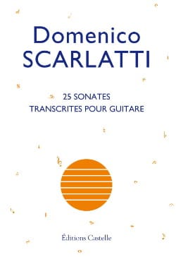 25 Sonates SCARLATTI Partition Guitare - laflutedepan