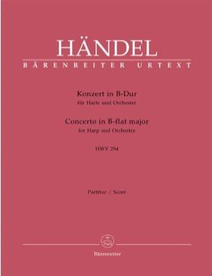 Konzert in B-Dur für Harfe u. Orchester HWV 294 HAENDEL laflutedepan