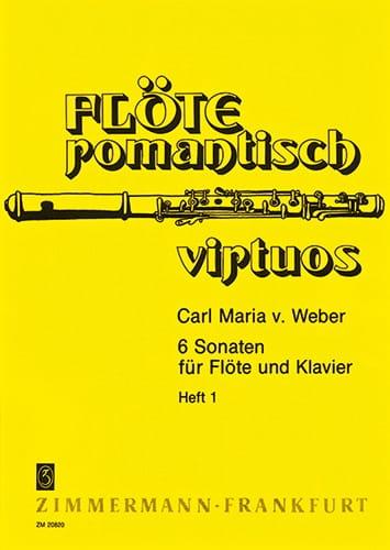 6 Sonaten - Heft 1 - Flöte Klavier - laflutedepan.com