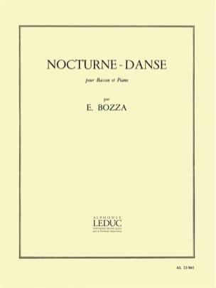 Nocturne-Danse Eugène Bozza Partition Basson - laflutedepan