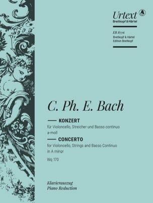 Concerto Violoncelle la mineur Wq 170 laflutedepan