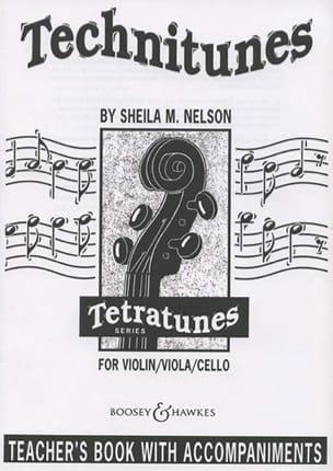 Technitunes / Teacher's Book Sheila M. Nelson Partition laflutedepan