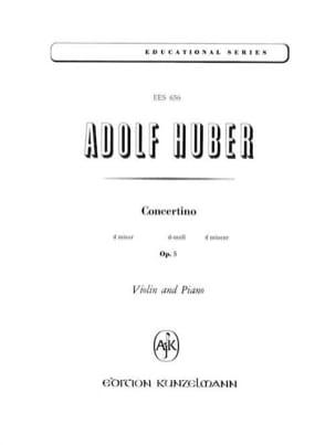 Schüler-Concertino op. 5, d-moll Adolf Huber Partition laflutedepan