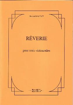 Rêverie Bernard Malfait Partition Violoncelle - laflutedepan