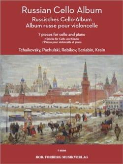 Russian Cello Album Partition Violoncelle - laflutedepan