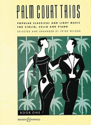 Palm Court Trios Volume 1 Peter Wilson Partition Trios - laflutedepan